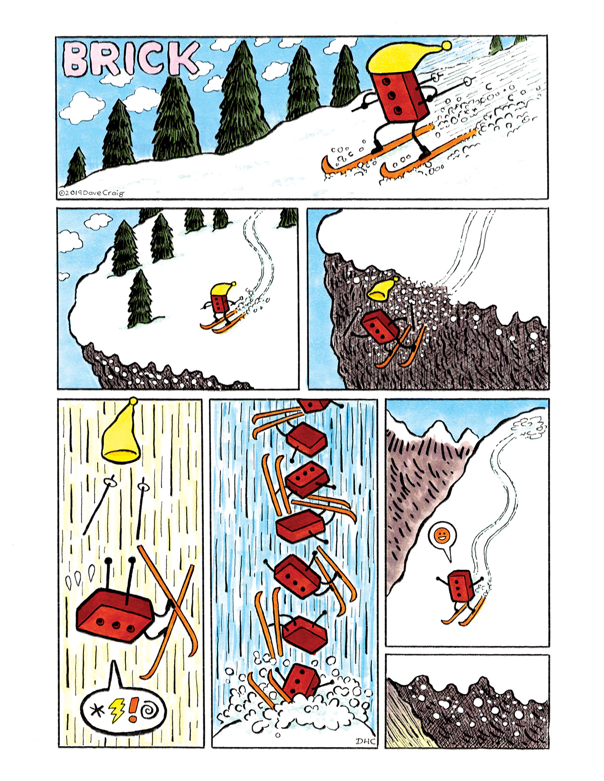 Brick comic by David Craig