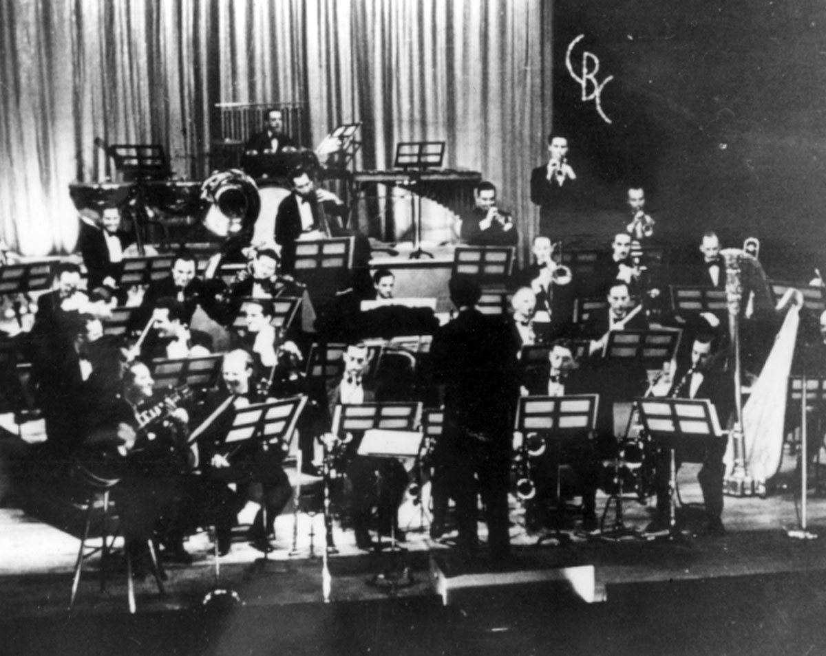 Photograph courtesy CBC Archives