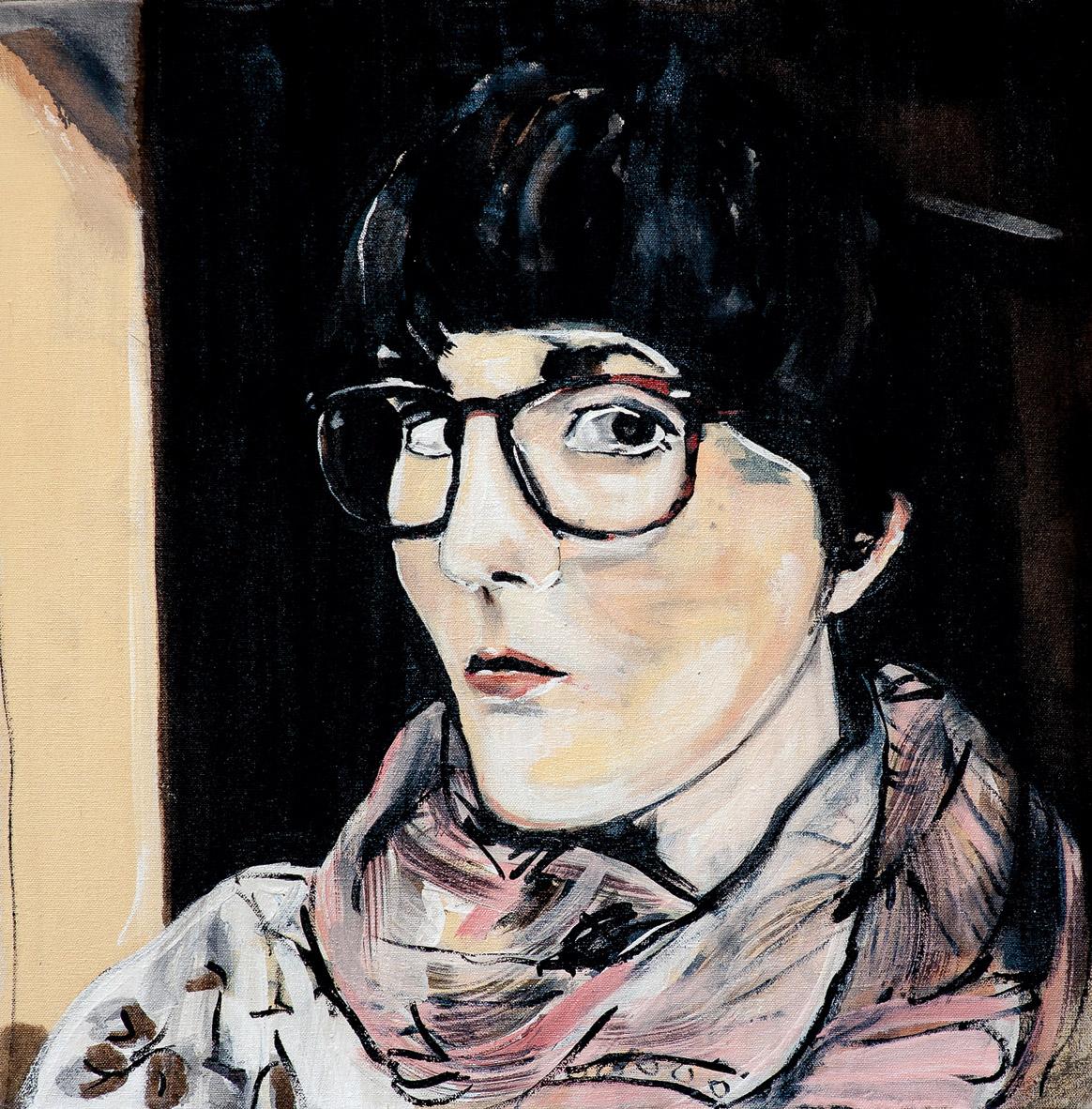 Painting of Kate Hargreaves by Melanie Janisse-Barlow