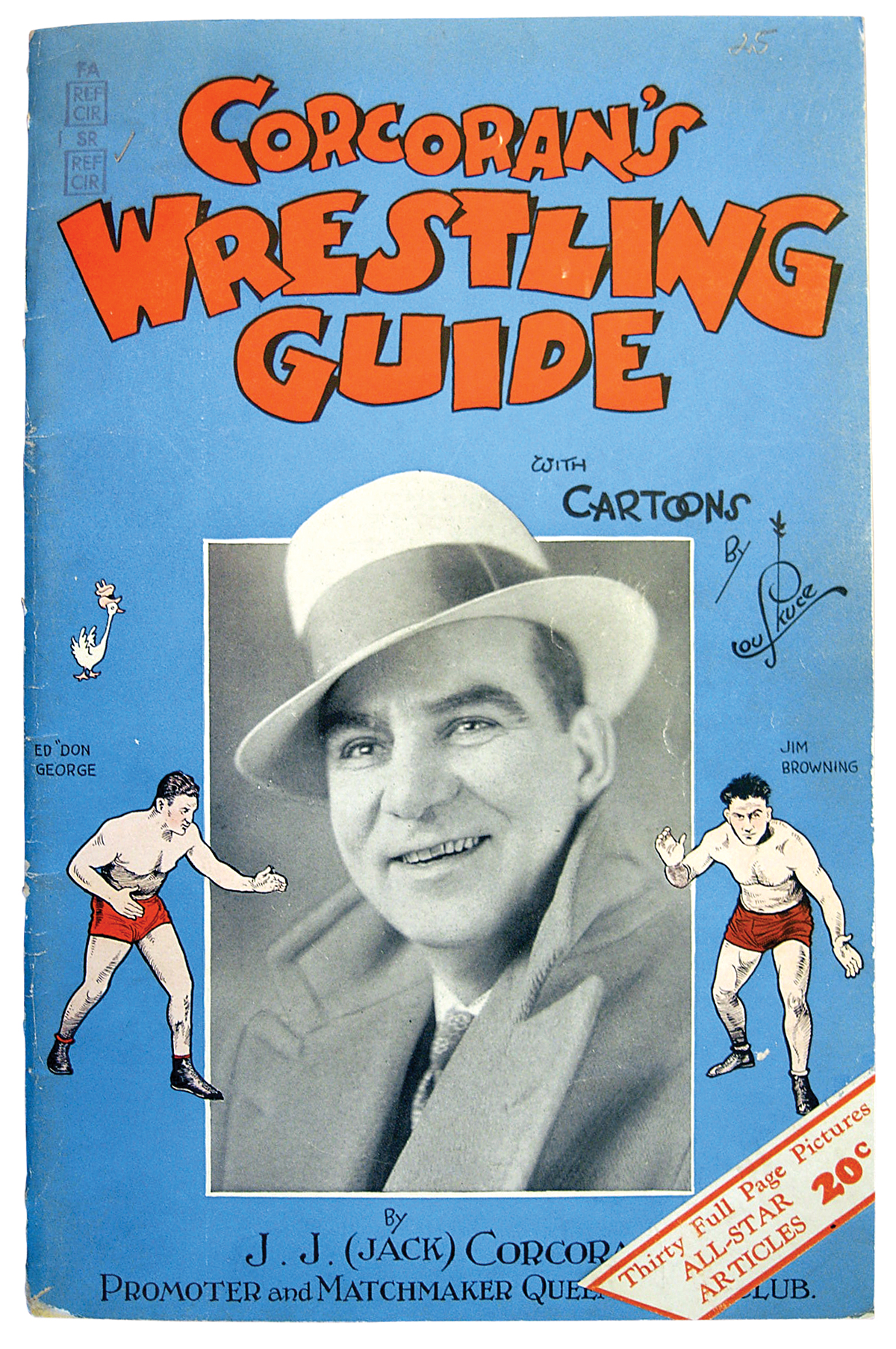 Photo of Corcoran's Wrestling Guide