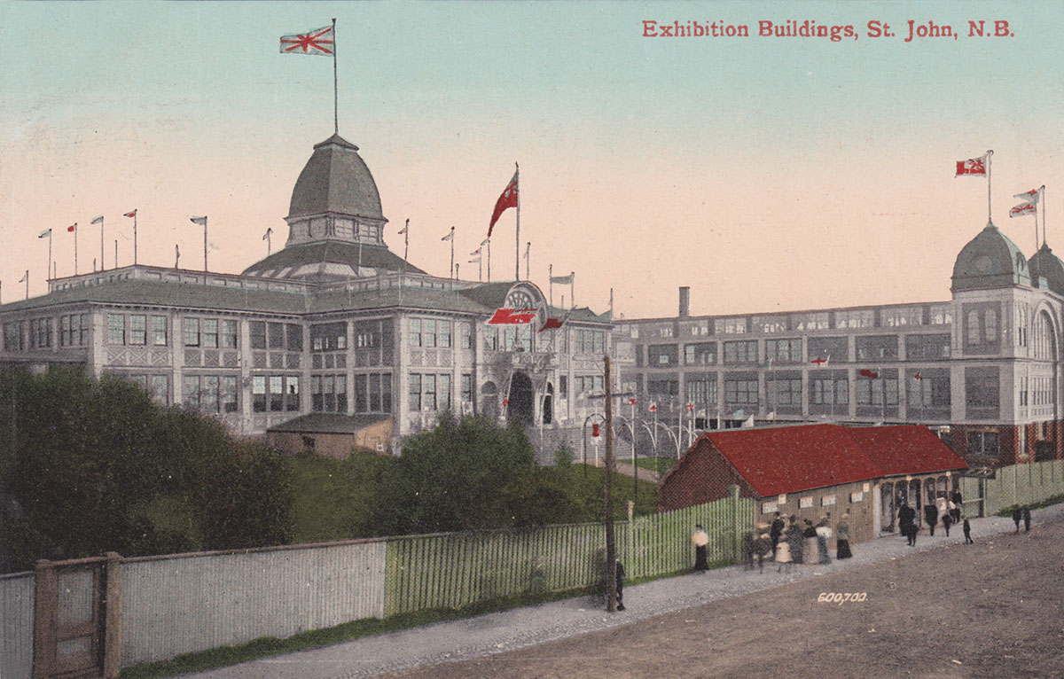 Photograph of the Saint John Exhibition buildings